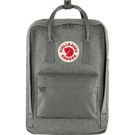 "Fjällräven Kånken Re-Wool Laptop Backpack 15"" granite grey"
